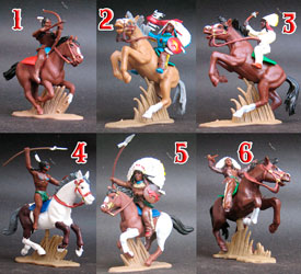 Indians mounted Special Set