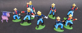 Dismounted confederate Cavalry set #2