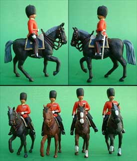 Mounted Guards Set