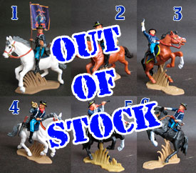 Union Troops mounted Special set