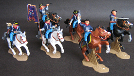 Union Troops mounted