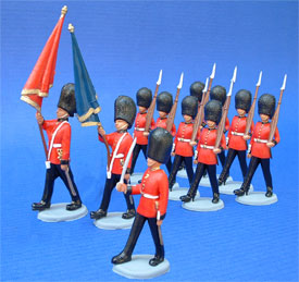 Royal Guards on parade