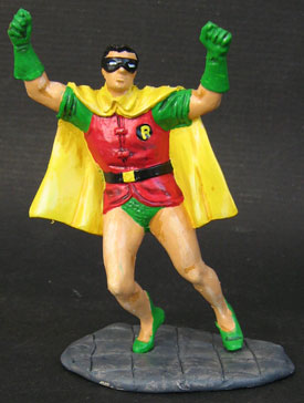 Charbens 4 inch. Silver Age Robin