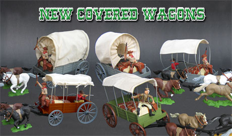 New covered wagons