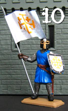 Knight of the Dragon with flag