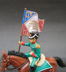 French Light Cavalry Flagbearer