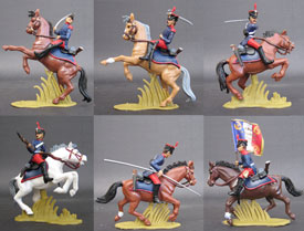 Foreign Legion 1831, Mounted