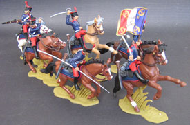 Foreign Legion, 1831 mounted Set