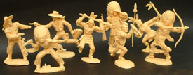 Lafredo: Farwest figures in 80 mm
