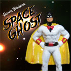 Space Ghost, hand painted