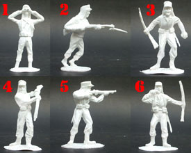 French Foreign Legion. Unpainted Set